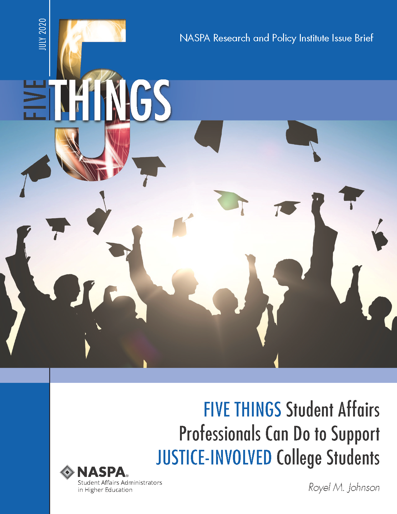Five Things Justice-Involved College Students Cover