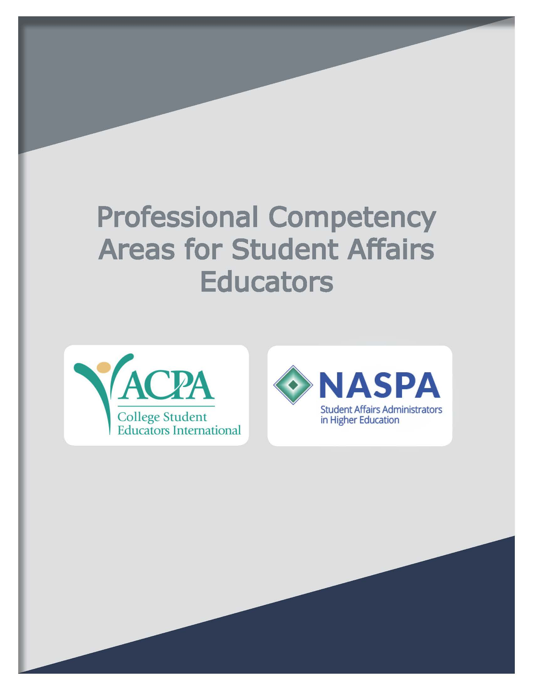 professional competencies 2015 cover